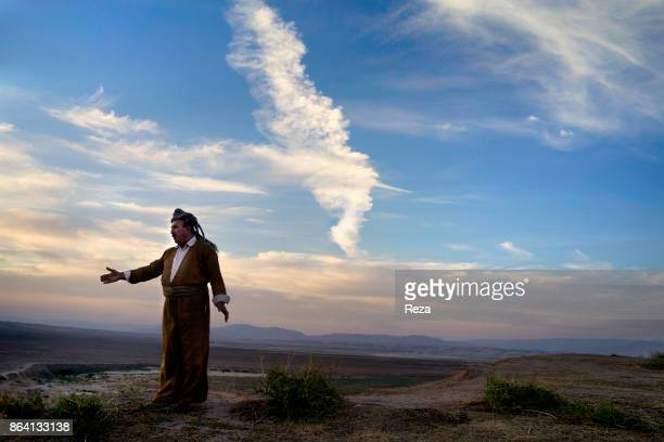 Gaugameles Plain Regional Government of KurdistanIraq Shukur Hamu Hassan the head of Surchi Badina tribe tells the story of the Gaugameles Battle...