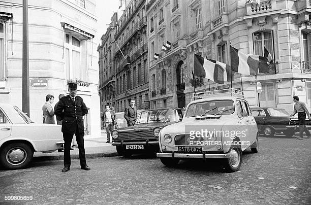 Gaullist Counter Demonstration On The ChampsElysées In Paris France On May 30 1968