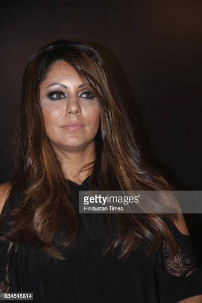 Gauri Khan wife of Bollywood actor Shah Rukh Khan during the launch of signature collection of Tisva luminaires at the Tisva lighting studio Khar on...