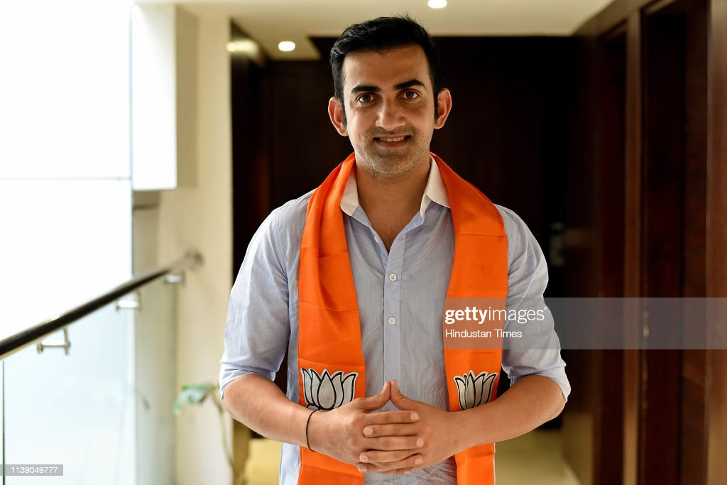 IND: HT Exclusive: Profile Shoot Of BJP Candidate From East Delhi Gautam Gambhir