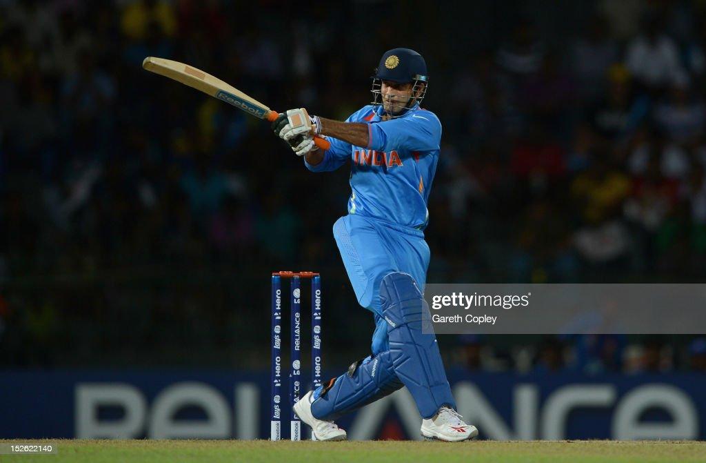 England v India - ICC World Twenty20 2012: Group A : News Photo