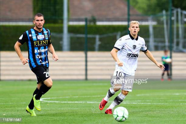 Gauthier Hein of Valenciennes during the Ligue 2 match between FC Chambly and Valenciennes FC at Stade Pierre Brisson on July 26 2019 in Beauvais...