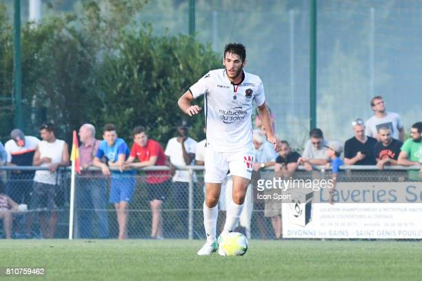 Gautier Lloris of Nice during the friendly match between OGC Nice and FC Servette Geneve on July 7 2017 in DivonnelesBains France
