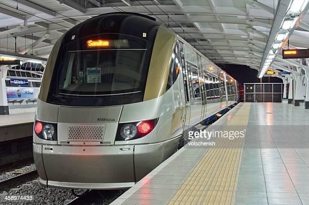Gautrain Metro at OR Tambo International Airport