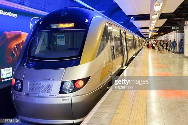 Gautrain Metro in Sandton