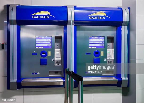 Gautrain metro ticket machine