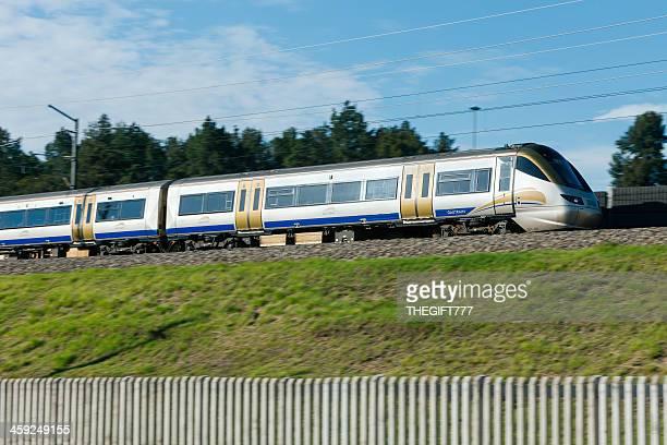 Gautrain metro train to OR Tambo Airport