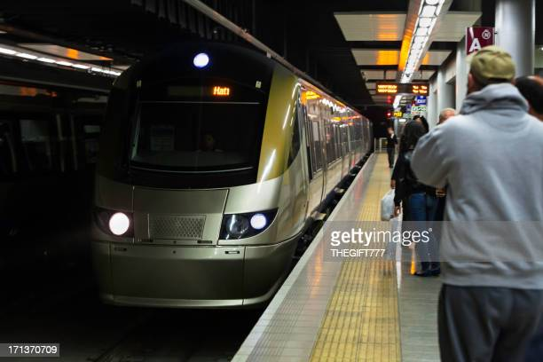Gautrain subway in Sandton