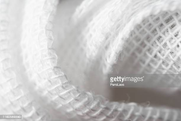 gauze texture - gauze stock pictures, royalty-free photos & images