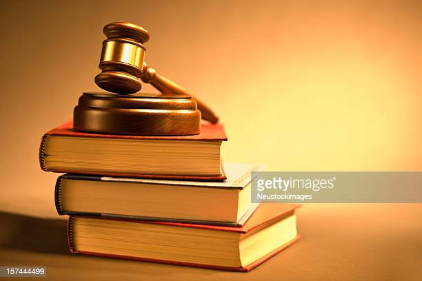 Martelo e lei livros sobre Bloco de Som