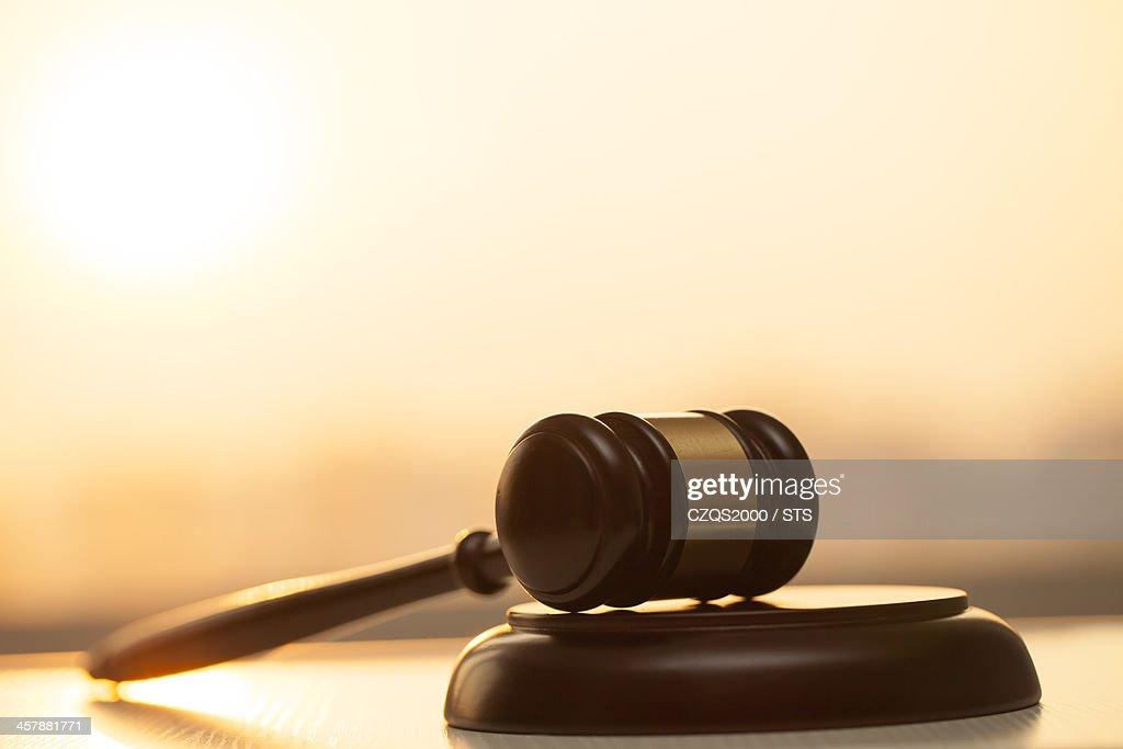 gavel : Stockfoto
