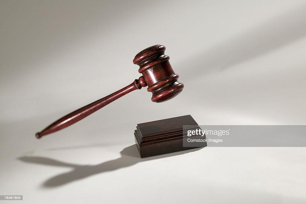 Gavel : Stock Photo
