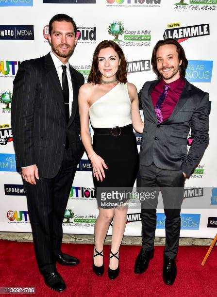 Gavin Adams Chantelle Albers and Aaron Fors attend As Long As I'm Famous World Premiere on March 16 2019 in Beverly Hills California
