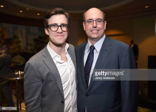 Gavin Creel and Christopher Ashley attends the Tony Honors Cocktail Party Presenting The 2017 Tony Honors For Excellence In The Theatre And Honoring...