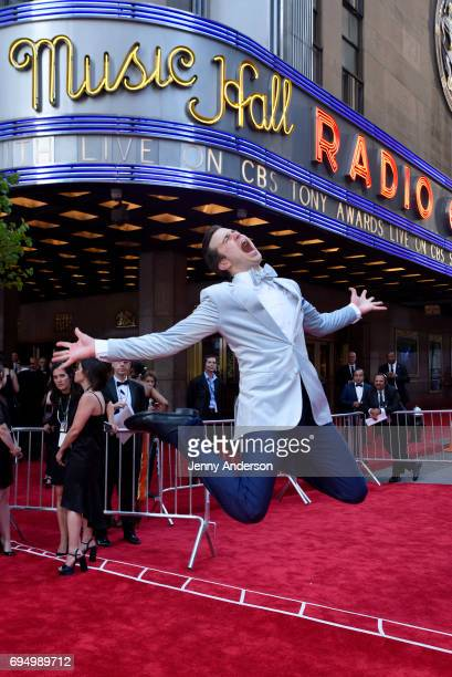 Gavin Creel attends the 2017 Tony Awards at Radio City Music Hall on June 11 2017 in New York City