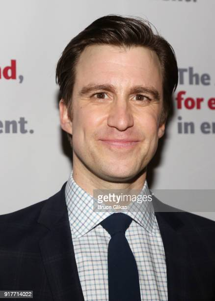 Gavin Creel poses at the 'Thoroughly Modern Millie' 15th Anniversary Reunion Concert After Party at Opry City Stage on February 12 2018 in New York...