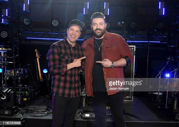 Gavin Degraw and Chris Young attend CMT Crossroads: Gavin Degraw & Chris Young at The Factory At Franklin on November 26, 2019 in Franklin, Tennessee.