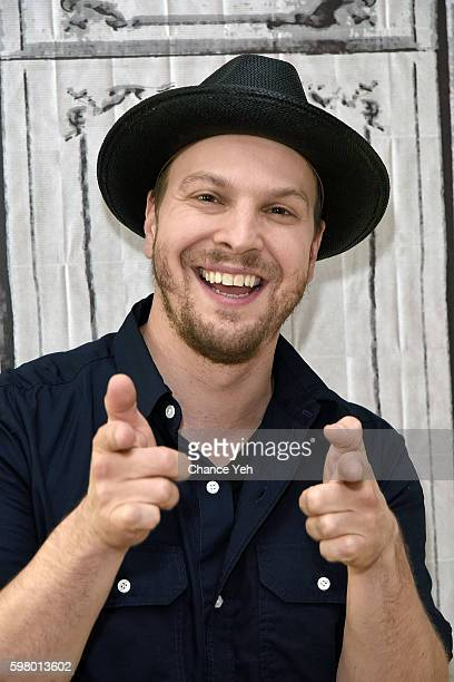 """Gavin DeGraw attends AOL Build to discuss his new album """"Something Worth Saving"""" at AOL HQ on August 30, 2016 in New York City."""