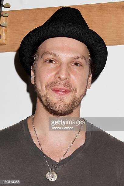 Gavin DeGraw attends Microsoft's 'Shape The Future Program' to benefit VH1 'Save The Music' at Gibson Guitar Entertainment Relations Showroom on...