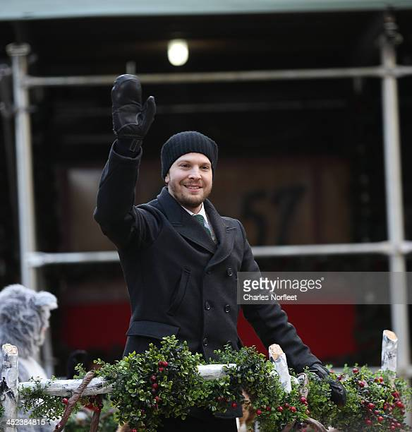Gavin DeGraw attends the 87th Annual Macy's Thanksgiving Day Parade on November 28 2013 in New York City