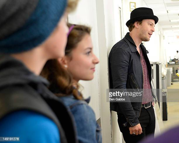 Gavin DeGraw attends the KIDZ Star USA Live Audition event at SiriusXM Studios on July 24 2012 in New York City