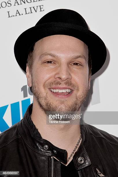 Gavin DeGraw attends the KIIS 1027 and ALT 987 FM preGrammy party and lounge at JW Marriott Los Angeles at LA LIVE on January 24 2014 in Los Angeles...