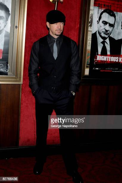 Gavin DeGraw attends the New York premiere of 'Righteous Kill' at the Ziegfeld Theater on September 10 2008 in New York City