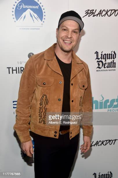 Gavin DeGraw attends Thirst Project 10th Annual Thirst Gala at The Beverly Hilton Hotel on September 28 2019 in Beverly Hills California
