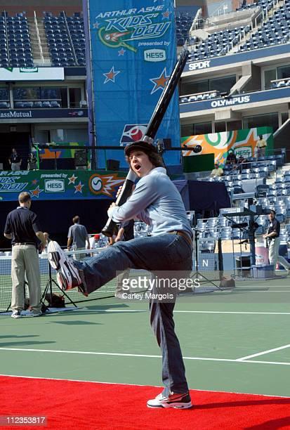 Gavin DeGraw during 2004 U.S. Open - Arthur Ashe Kids' Day at Arthur Ashe Tennis Stadium in New York City, New York, United States.