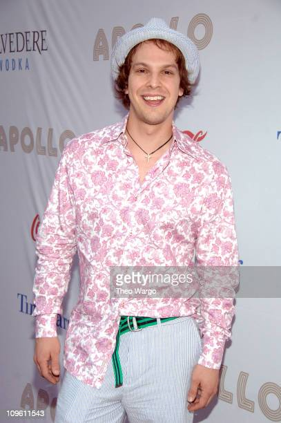 Gavin Degraw during At The Apollo 2006 Spring Gala and Hall of Fame Induction Ceremony Backstage and Arrivals at Apollo Theatre in New York City New...