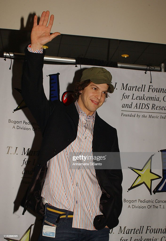 Gavin DeGraw during Bogart Tour For A Cure 2003 featuring Seal, Jonny Lang, Michael McDonald, Gavin DeGraw, Queen Latifah and Sharon Osbourne at Kodak Theatre in Los Angeles, California, United States.
