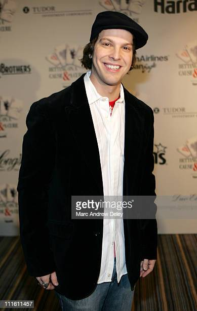 Gavin DeGraw during Cam Neely Foundation Fundraiser Monte Carlo Night Betting on a Cause and a Cure January 28 2006 at Charles Hotel in Cambridge...
