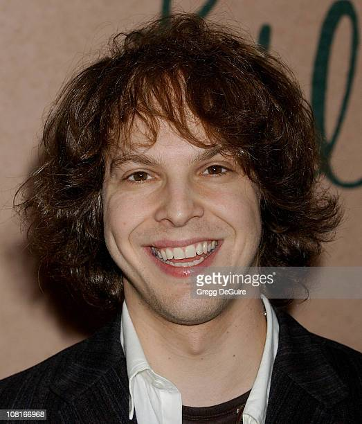 Gavin DeGraw during Clive Davis' 2005 PreGRAMMY Awards Party Arrivals at Beverly Hills Hotel in Beverly Hills California United States