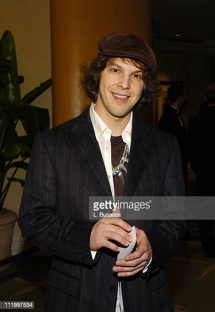 Gavin DeGraw during Clive Davis' 2005 PreGRAMMY Awards Party Cocktail Reception at Beverly Hills Hotel in Beverly Hills California United States