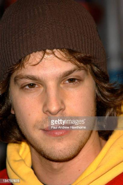 """Gavin Degraw during Gavin Degraw and Cast Members of """"One Tree Hill"""" Apear at Planet Hollywood - New York at Planet Hollywood in New York City, New..."""