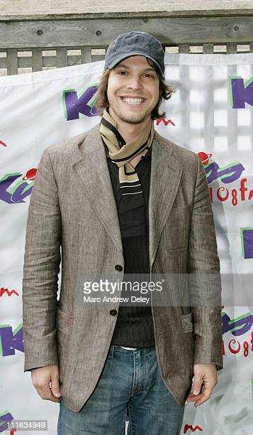 Gavin DeGraw during KISS 108 FM KISS Concert 2005 Photo Tent at Tweeter Center in Mansfield Massachusetts United States
