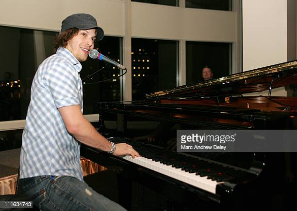 Gavin DeGraw during KISS 108 FM KISS Concert 2005 Private Pre Party with Gavin DeGraw at Boston Harbor Hotel in Boston Massachusetts United States