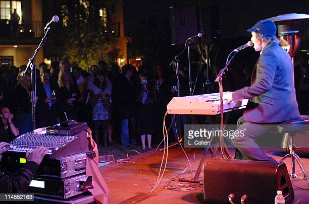 Gavin DeGraw during Songs of Hope IV at Esquire House 360° Inside at Esquire House 360° in Beverly Hills California United States