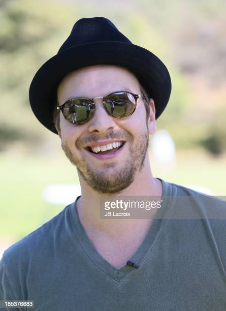 Gavin DeGraw is seen golfing at the Malibu Golf Club during the Pinnacle Vodka and Live Nation?s Summer Sweepstakes event on October 19, 2013 in...