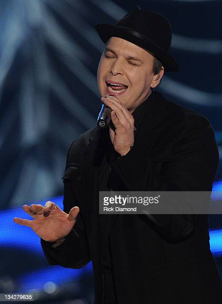 Gavin DeGraw performs at the 2011 CMT Artists of the year celebration at the Bridgestone Arena on November 29 2011 in Nashville Tennessee