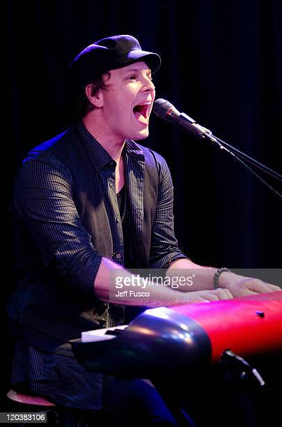 Gavin DeGraw performs at the Q102 Performance Theater on August 5 2011 in Bala Cynwyd Pennsylvania