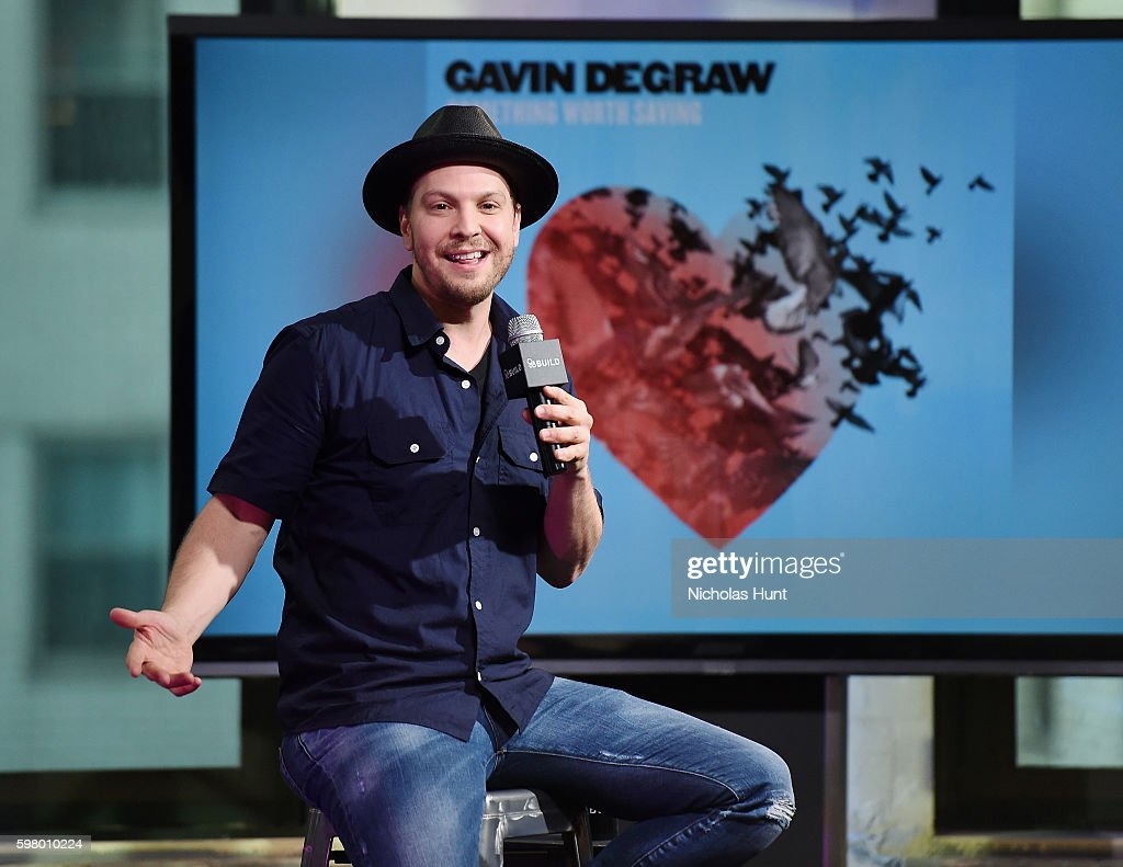 "AOL Build Presents Gavin DeGraw Discussing His New Album ""Something Worth Sating"""