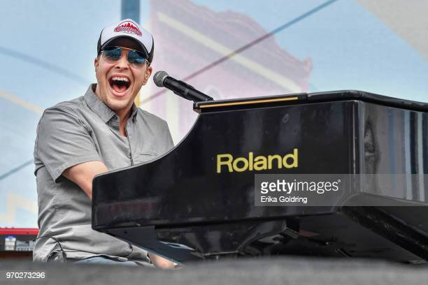 Gavin DeGraw performs during the 2018 CMA Music festival at the on June 8 2018 in