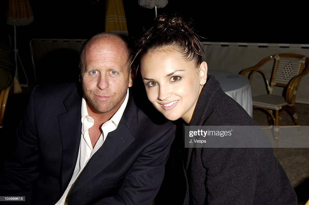 Gavin Grazer, Dir. and Rachael Leigh Cook during Cannes 2002 - 'Scorched' Party at Majestic Beach in Cannes, France.