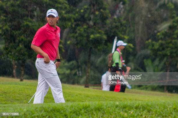 Gavin Green is seen at the Eurasia Cup EurAsia Cup is a biennial men professional team golf tournament between Europe and Asia presented by RHB HICOM...