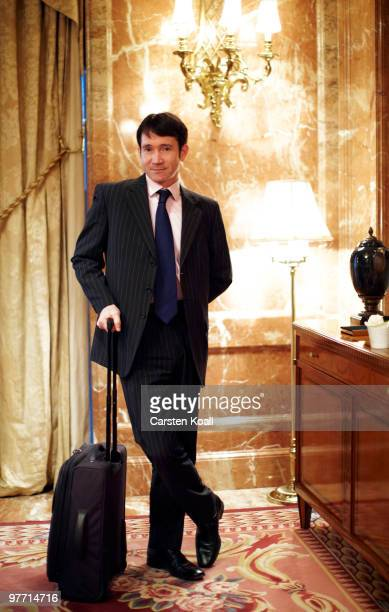 Gavin Halliday Area General Manager Europe for British Airways poses during a portrait session on March 12 2010 in Berlin Germany