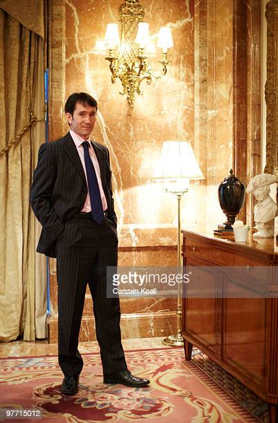 Gavin Halliday, Area General Manager Europe for British Airways , poses during a portrait session on March 12, 2010 in Berlin, Germany.