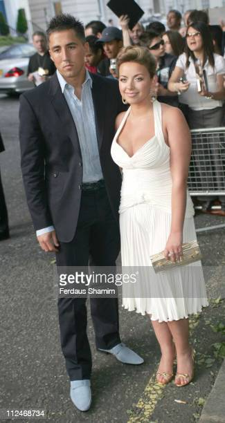 Gavin Henson and Charlotte Church during Glamour Women of the Year Awards 2006 Outside Arrivals at Berkley Square in London Great Britain