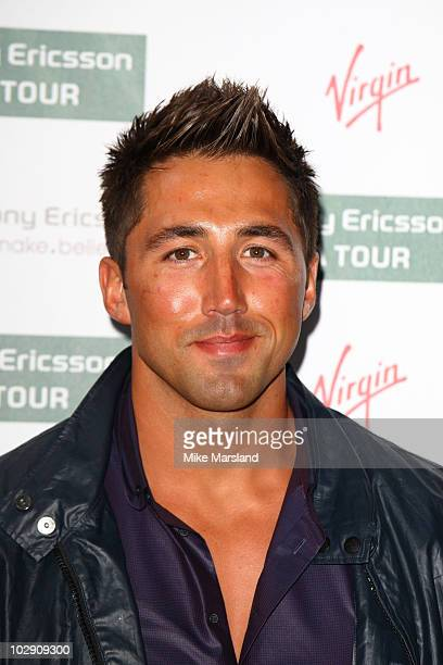 Gavin Henson attends the annual preWinbledon party at The Roof Gardens on June 17 2010 in London England