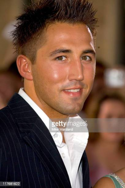 Gavin Henson during 2005 All Star Cup Gala Dinner Arrivals Celtic Manor August 27 2005 at The Celtic Manor Resort in Wales Great Britain